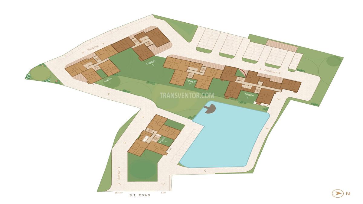 Dhoot Pratham Floor Plan 1