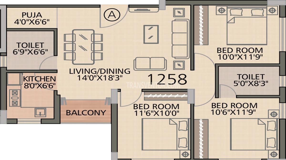 Diamond Navita Floor Plan 2