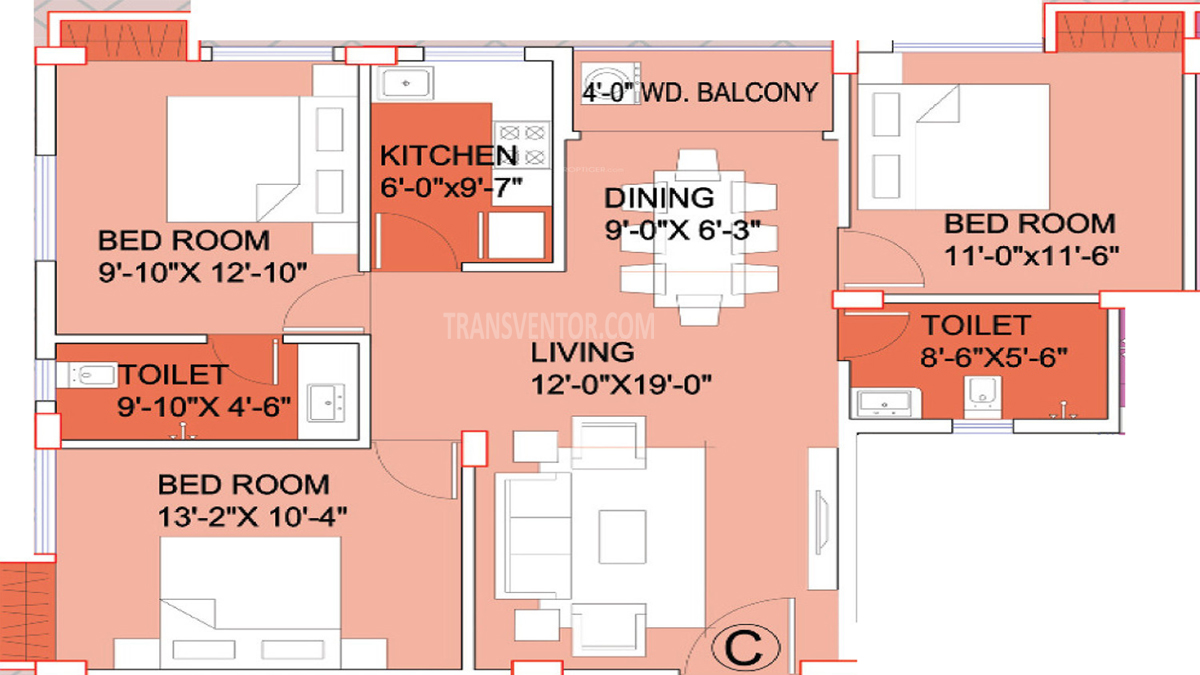 Aspirations Elegance Floor Plan 2