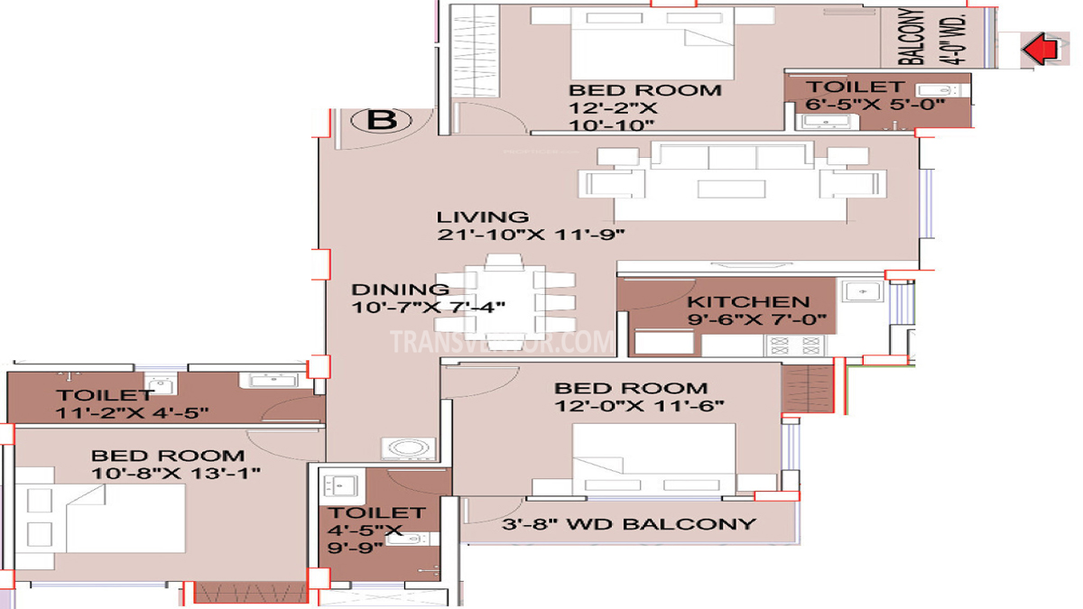 Aspirations Elegance Floor Plan 3