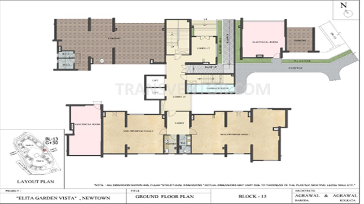 Elita Garden Vista Phase I Floor Plan 2