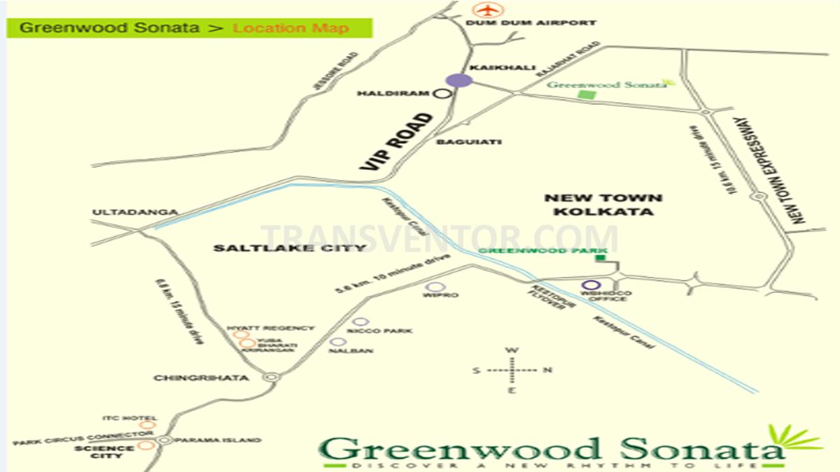 Shrachi Greenwood Sonata