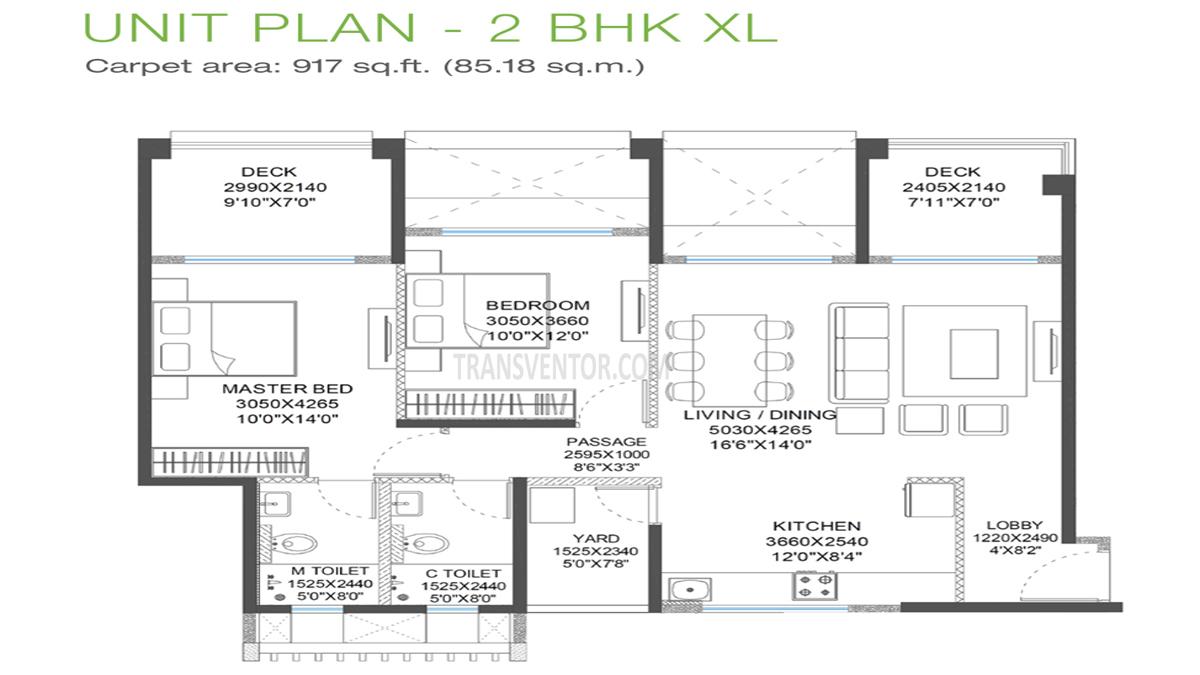 Godrej 24 Hinjewadi Floor Plan 3