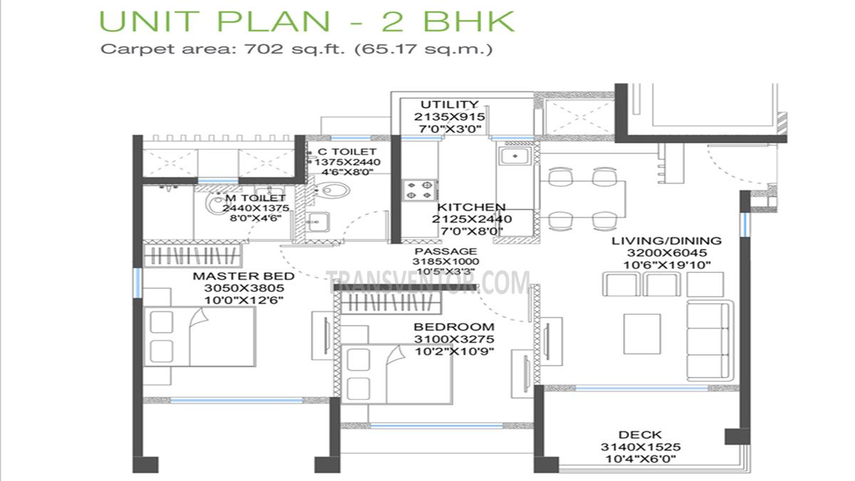 Godrej 24 Hinjewadi Floor Plan 1