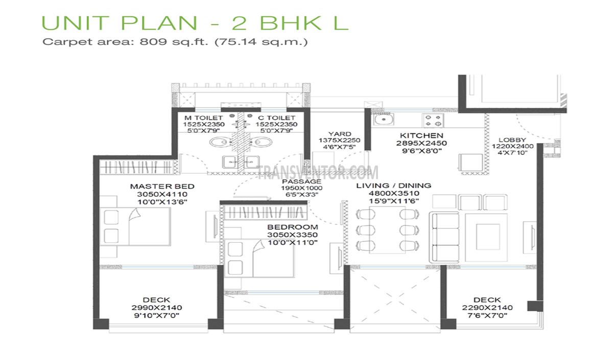 Godrej 24 Hinjewadi Floor Plan 2
