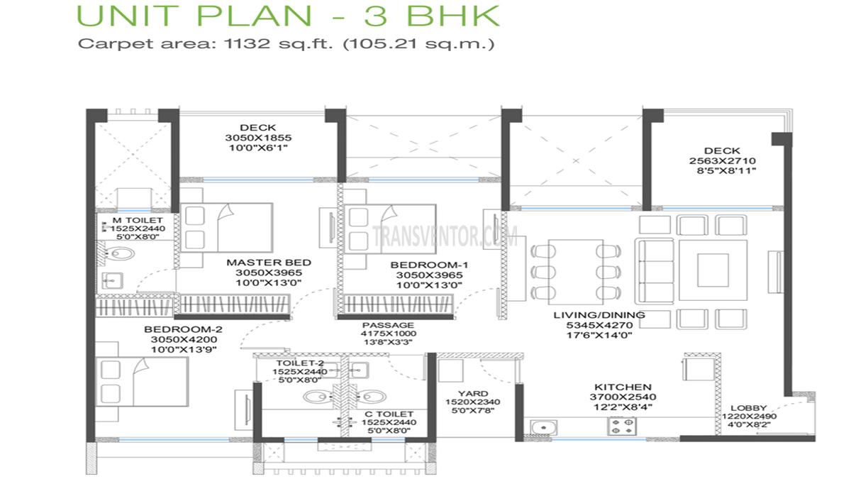 Godrej 24 Hinjewadi Floor Plan 4
