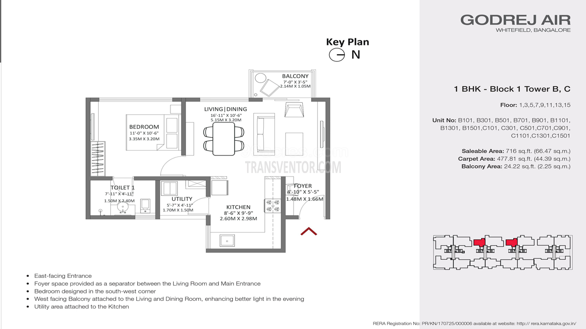 Godrej Air Floor Plan 1