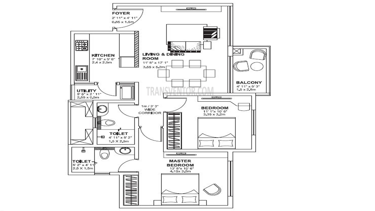 Godrej Avenues Floor Plan 2