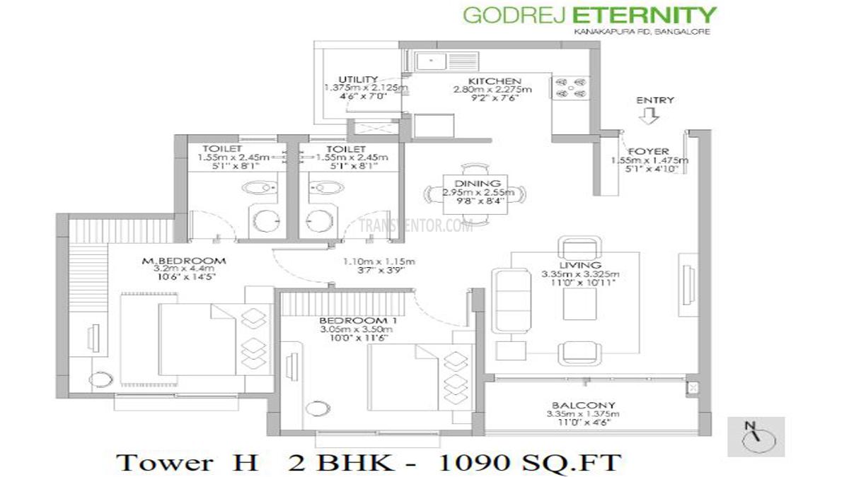 Godrej Eternity Floor Plan 2