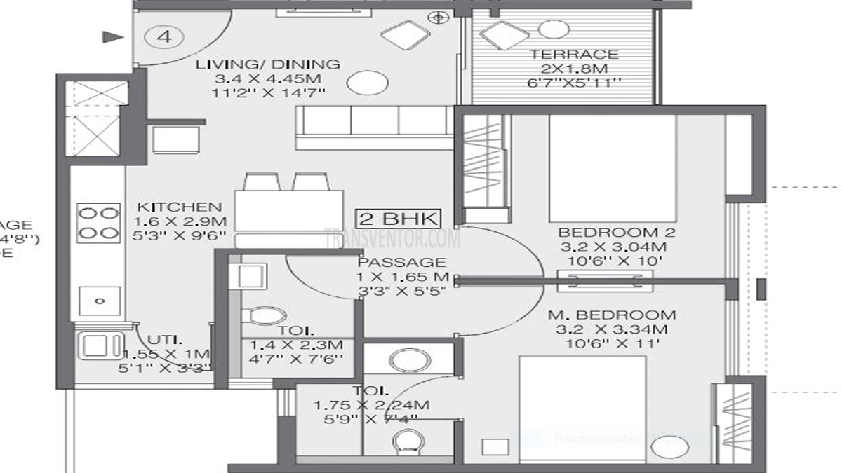 Godrej Greens Floor Plan 1