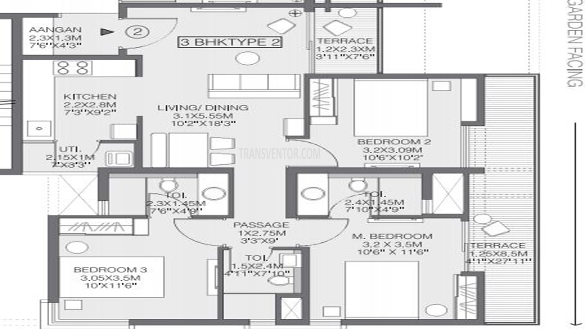Godrej Greens Floor Plan 2