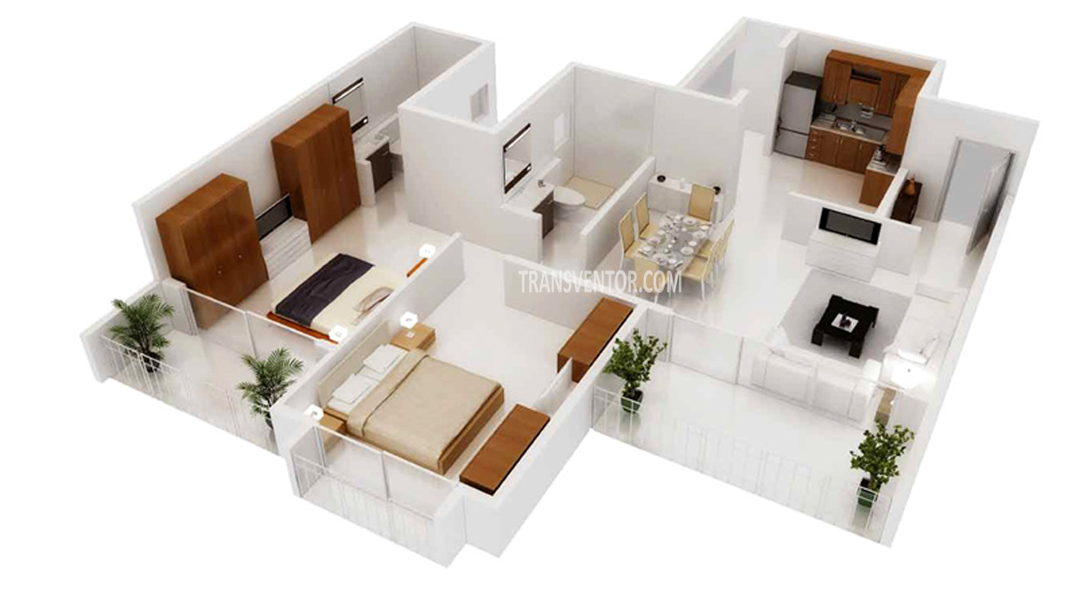 Godrej Horizon Floor Plan 3