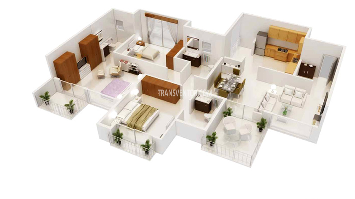 Godrej Horizon Floor Plan 4