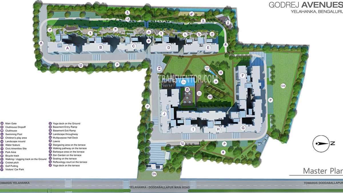 Godrej Avenues Floor Plan 4