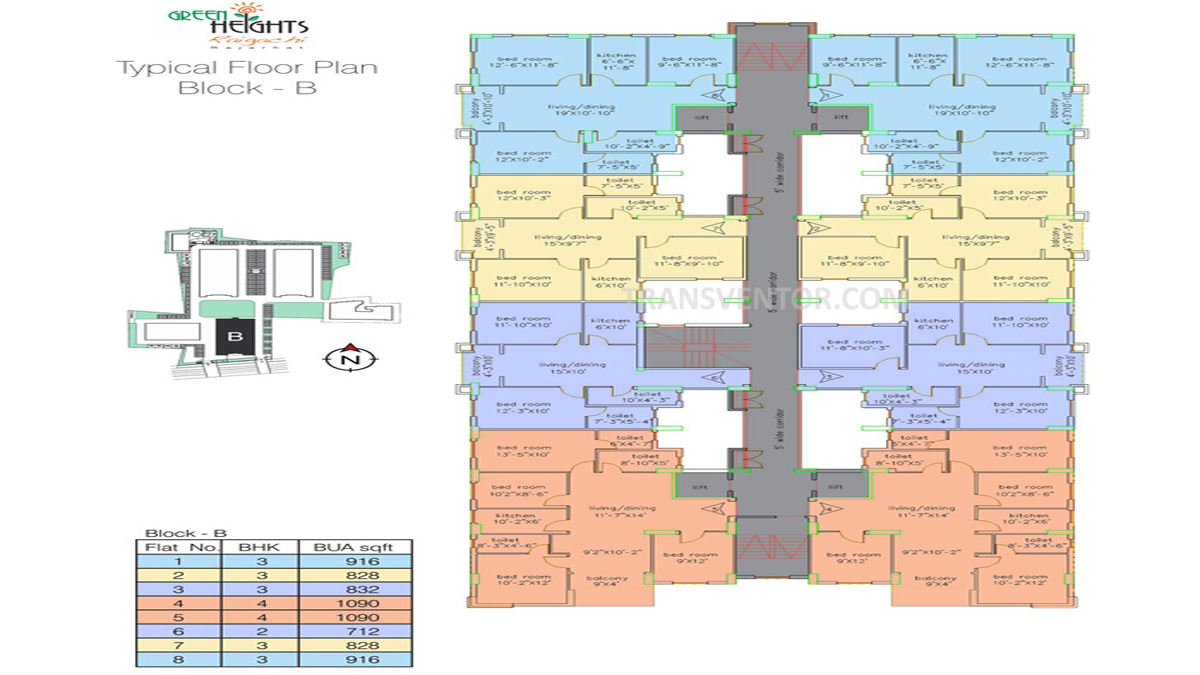 Loharuka Green Heights Floor Plan 3