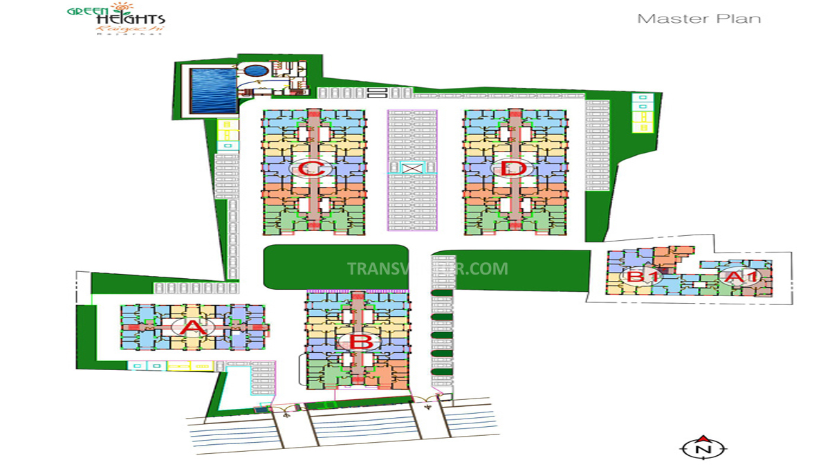 Loharuka Green Heights Floor Plan 1