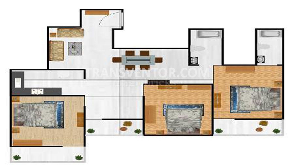 Loharuka Green Vista Floor Plan 1