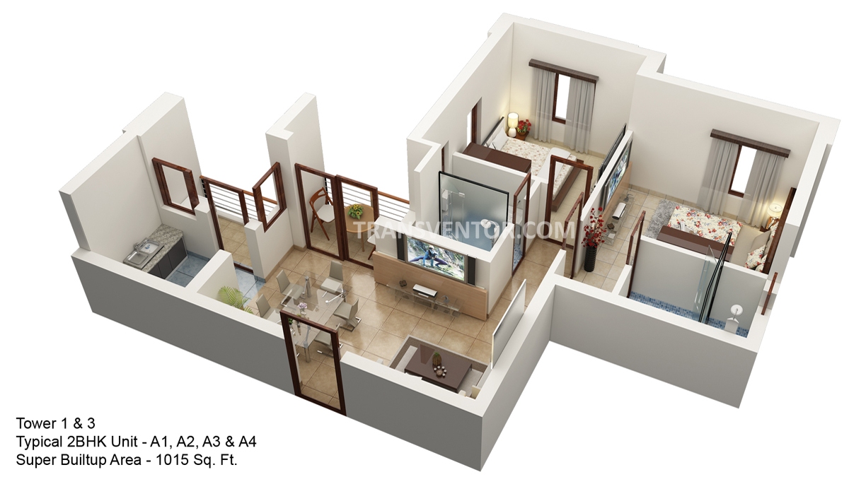 Hiland Ganges Floor Plan 2