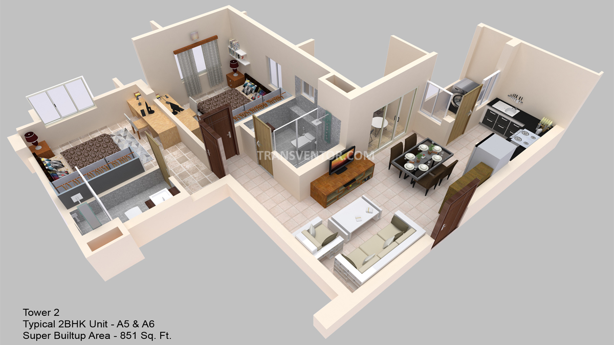 Hiland Ganges Floor Plan 3