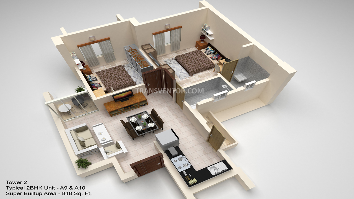 Hiland Ganges Floor Plan 4