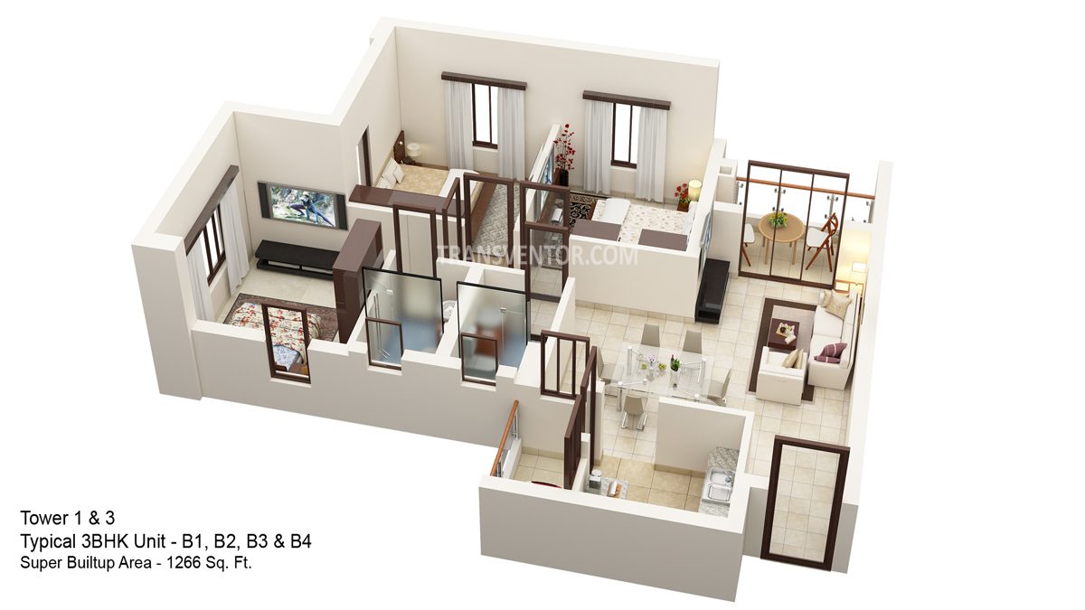 Hiland Ganges Floor Plan 5