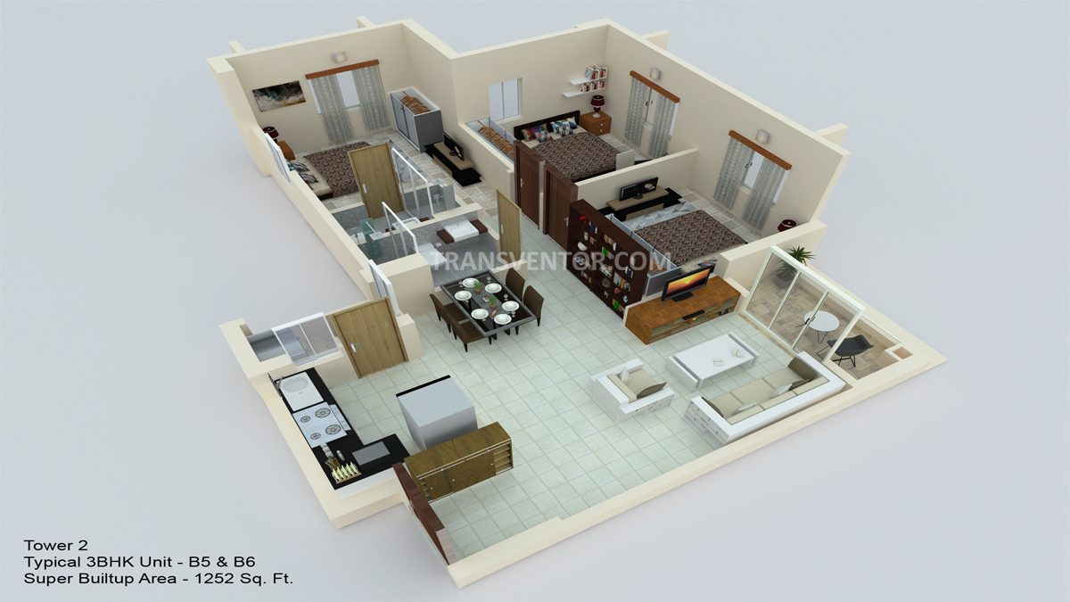 Hiland Ganges Floor Plan 6