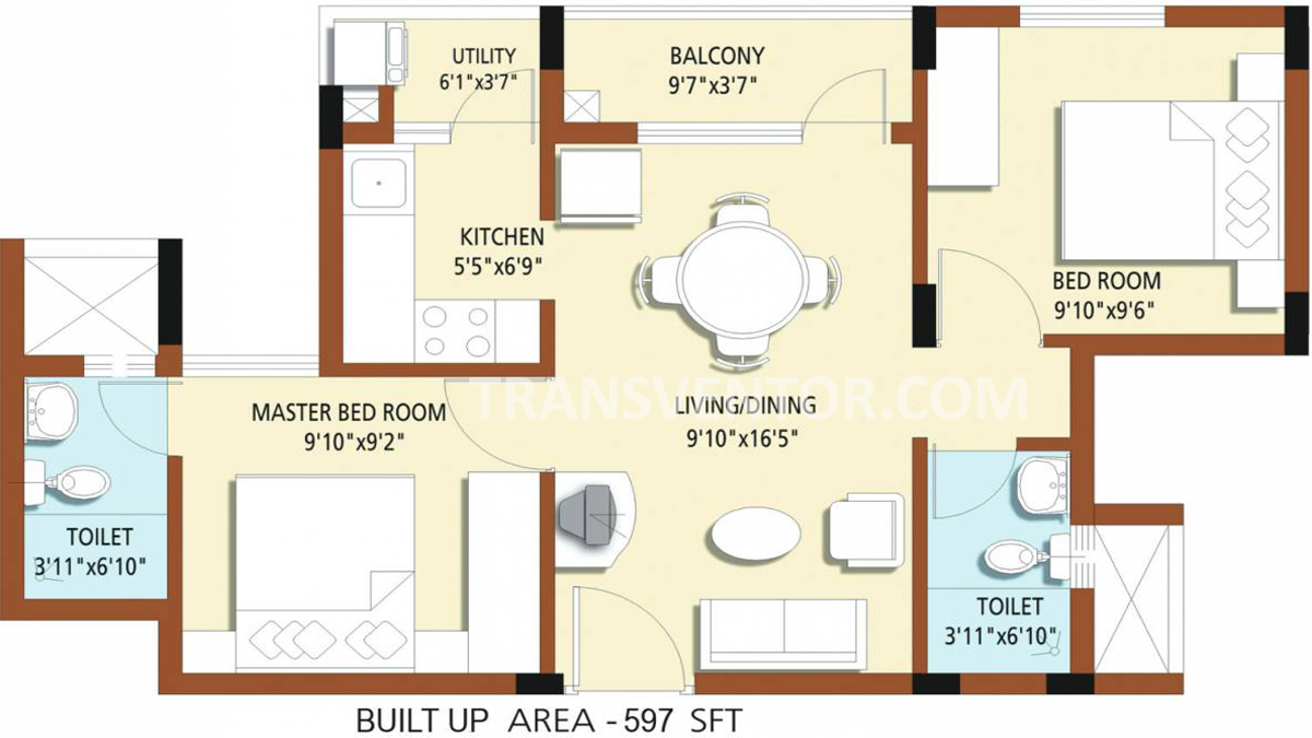 Hiland Willows Floor Plan 3