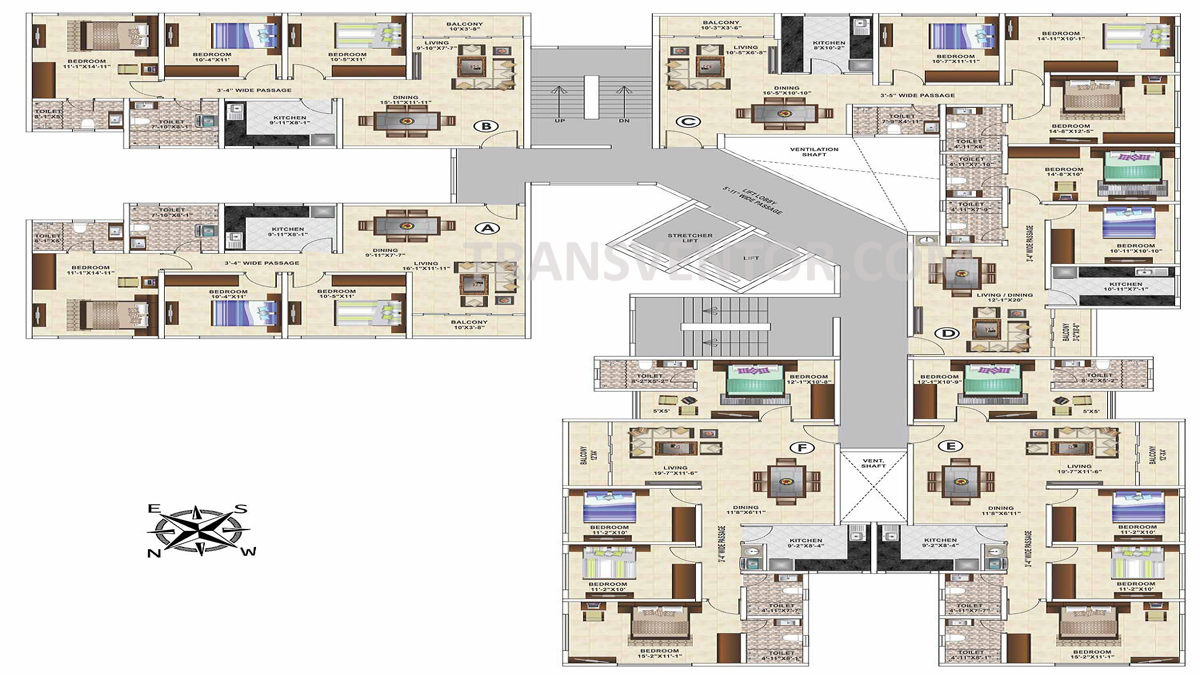Ideal Grand Floor Plan 3