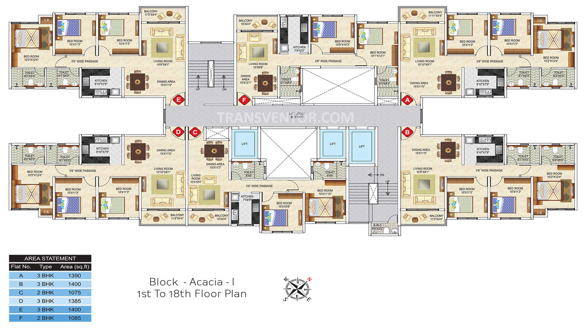 Ideal Greens Floor Plan 2