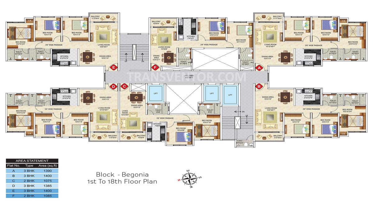 Ideal Greens Floor Plan 4