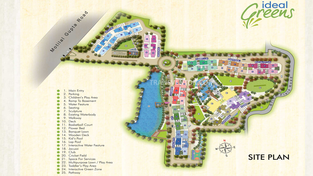Ideal Greens Floor Plan 1