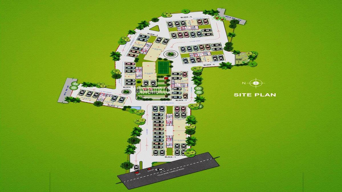 Jain Dream Pratham Floor Plan 1
