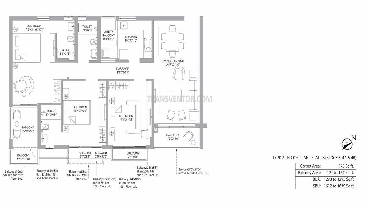 PS Jiva Floor Plan 4