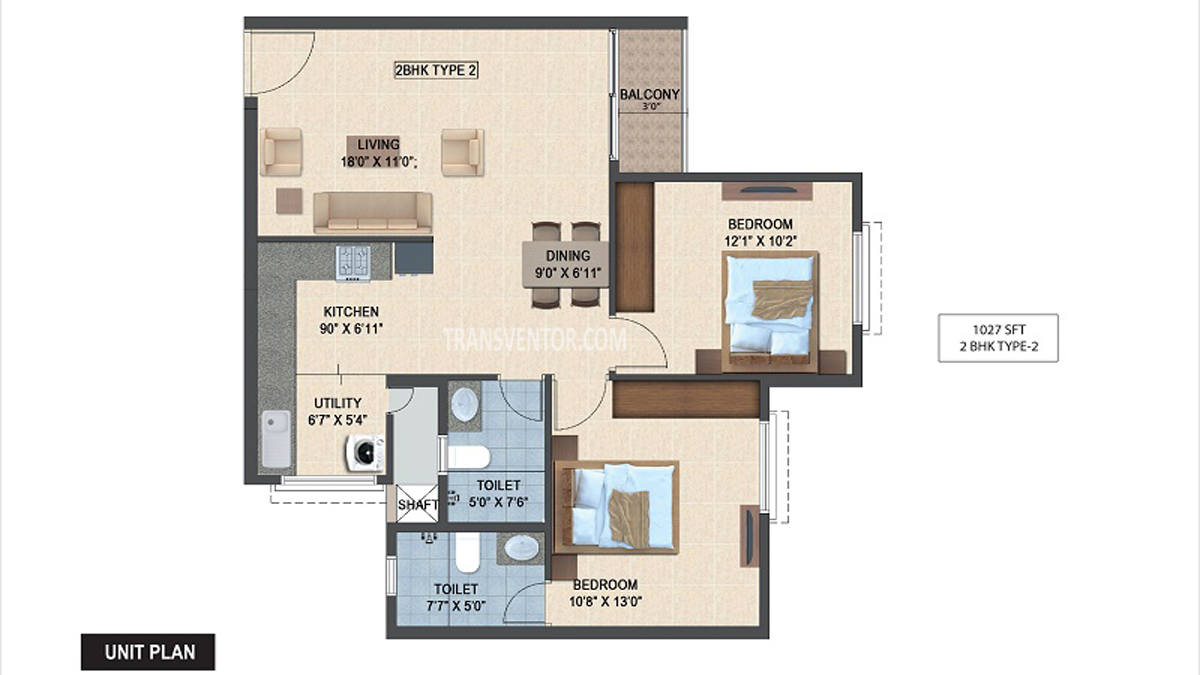 Salarpuria Sattva Laurel Heights Floor Plan 2
