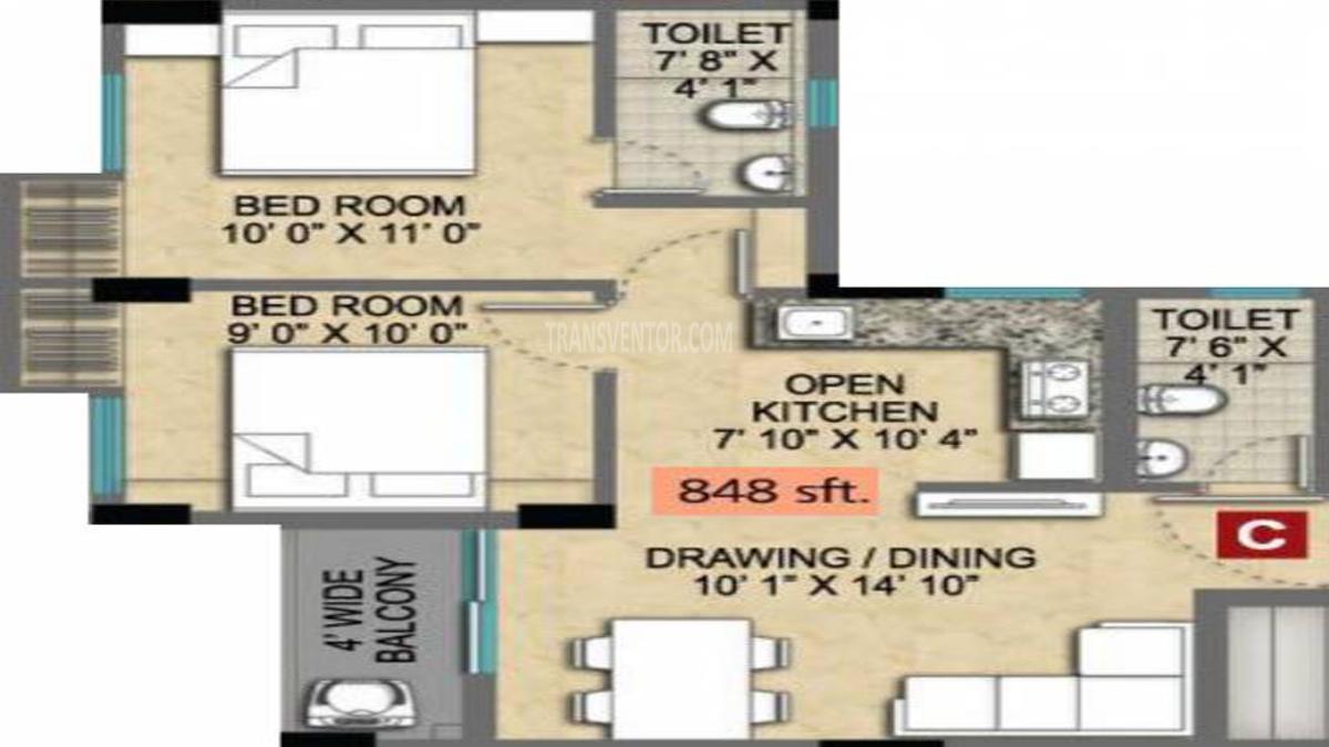 Magnolia Empire Floor Plan 2