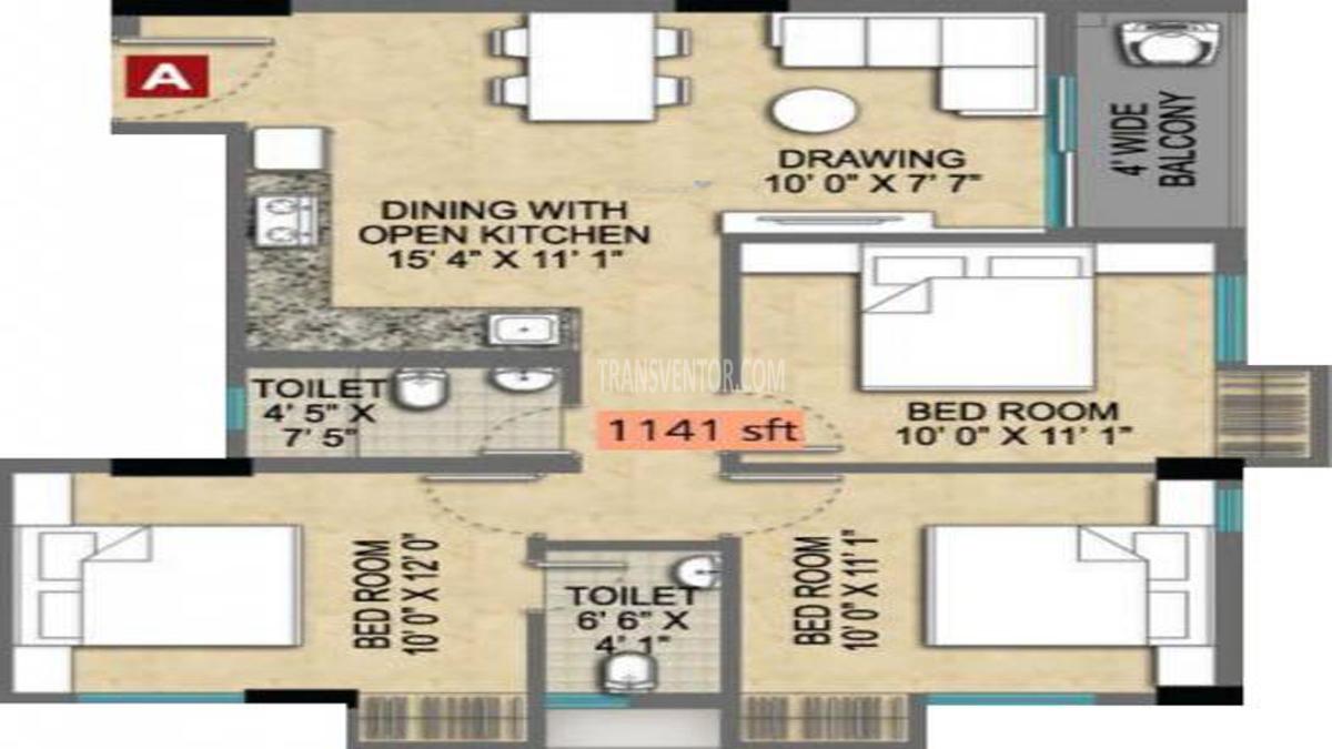 Magnolia Empire Floor Plan 3