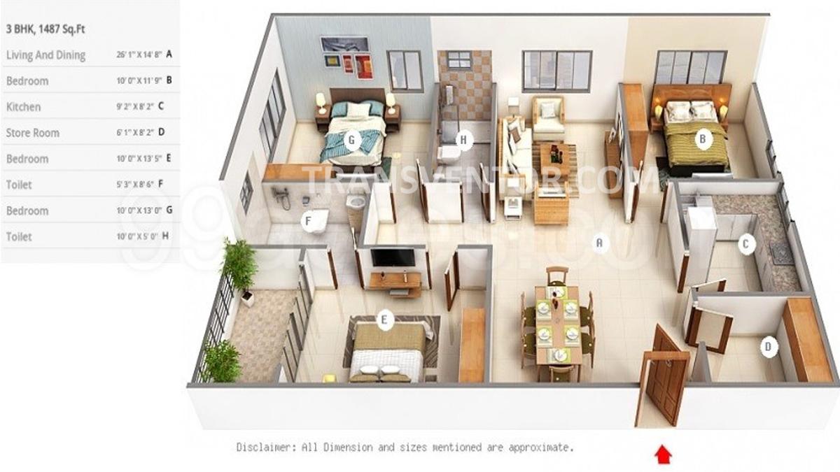 Mani Ratnam Floor Plan 1