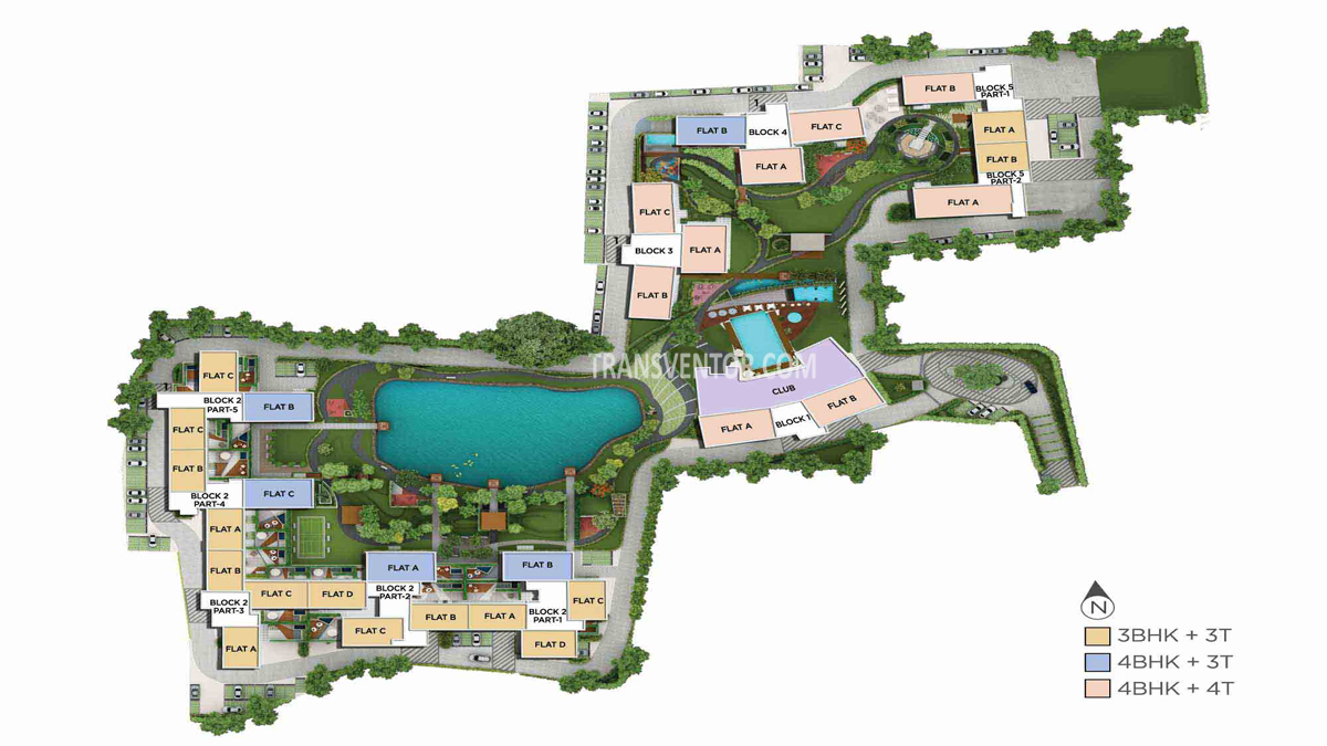 PS Palm Spring Floor Plan 1