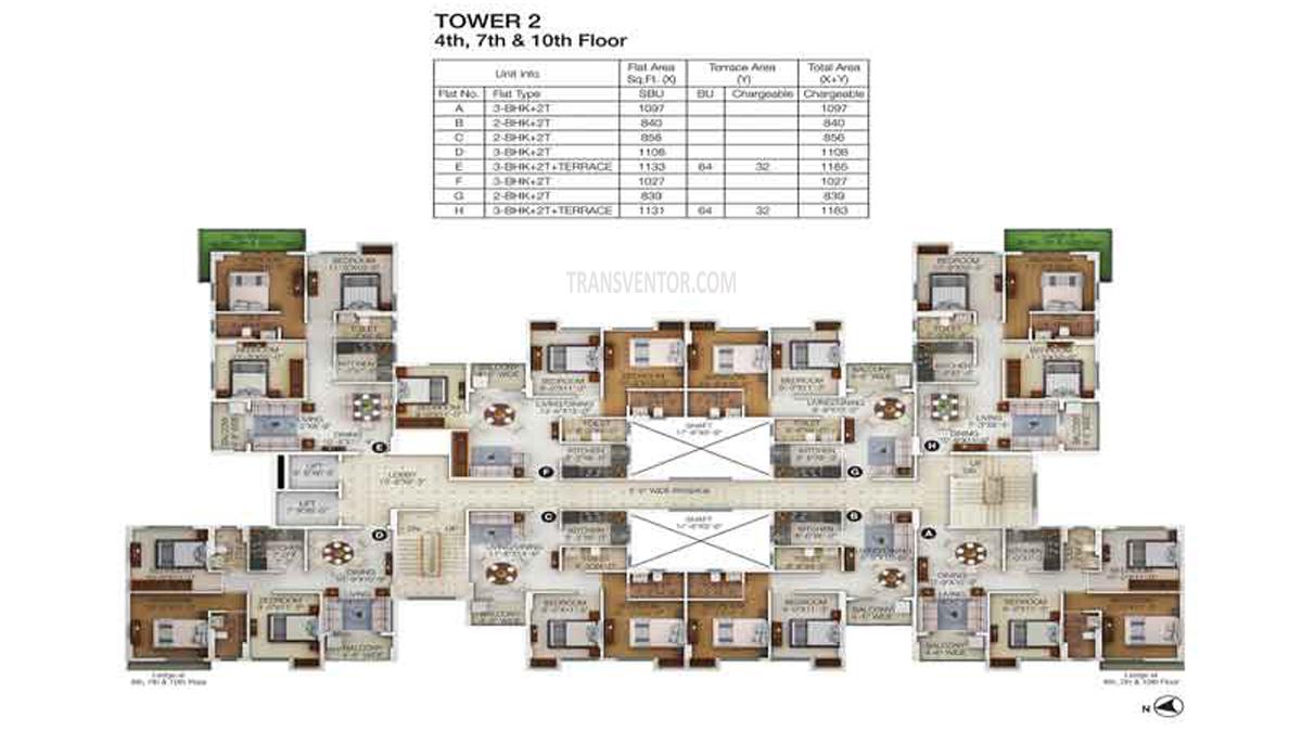 Merlin Maximus Floor Plan 3