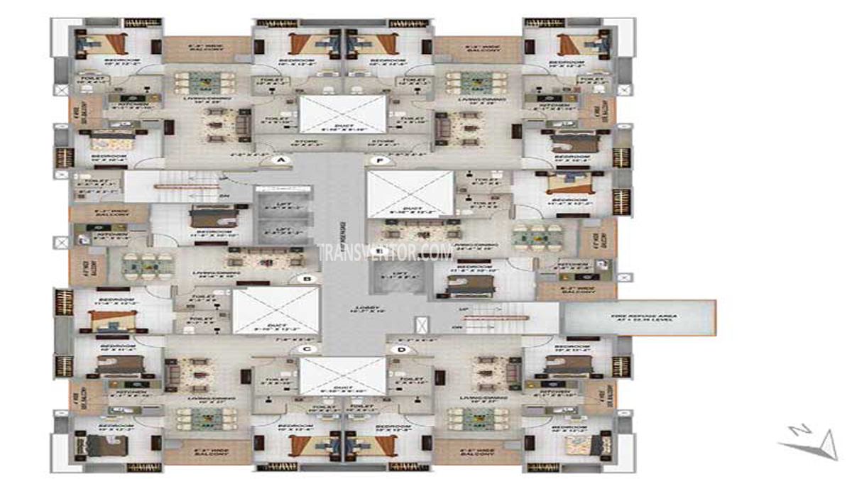 Merlin Next Floor Plan 3