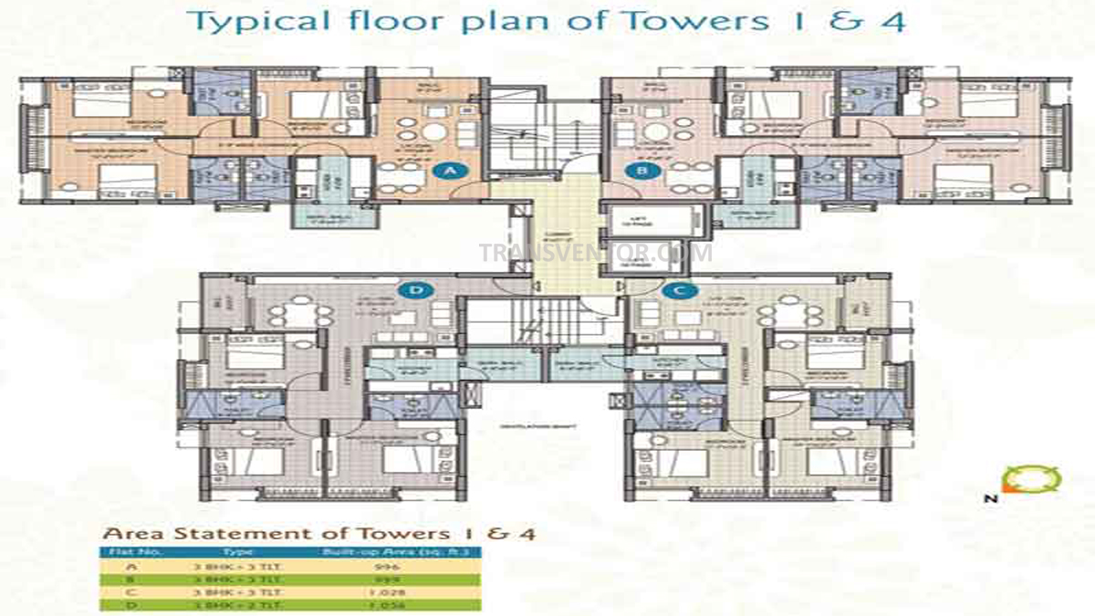 Merlin Water Front Floor Plan 4