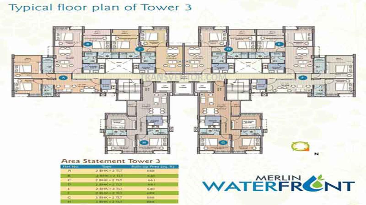 Merlin Water Front Floor Plan 2