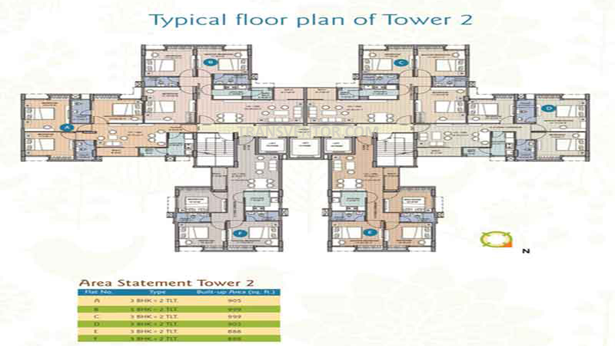 Merlin Water Front Floor Plan 3