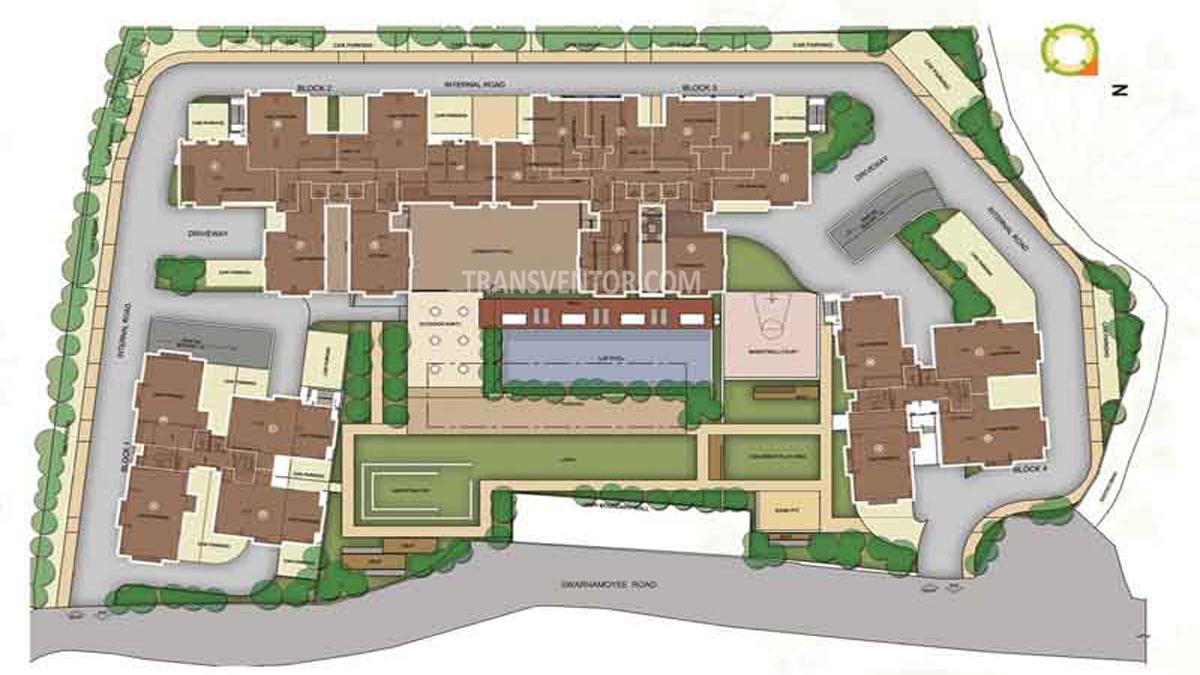 Merlin Water Front Floor Plan 1