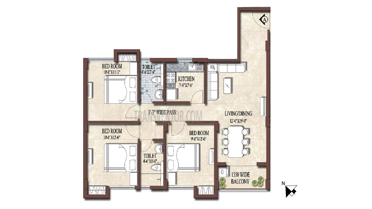 PS and Vinayak Nautical Floor Plan 5