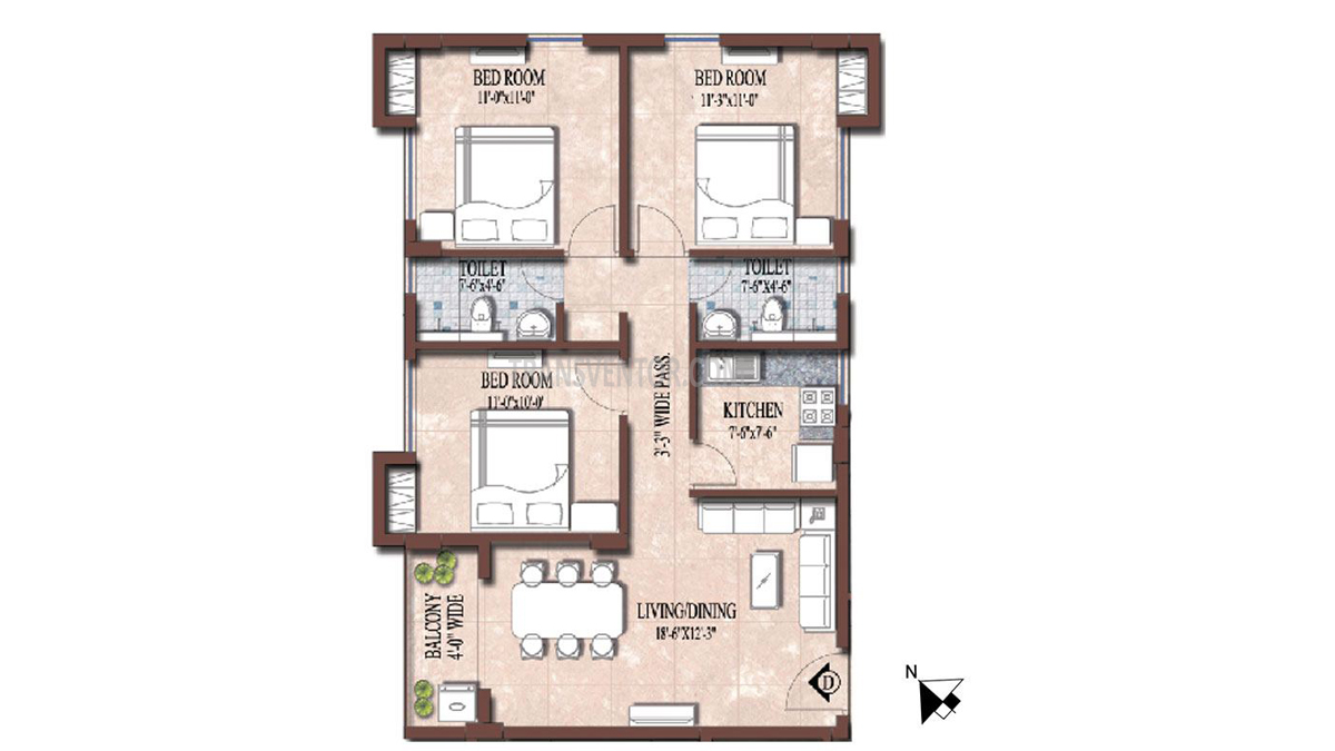 PS and Vinayak Nautical Floor Plan 6