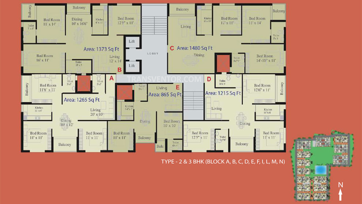Natural City Floor Plan 2