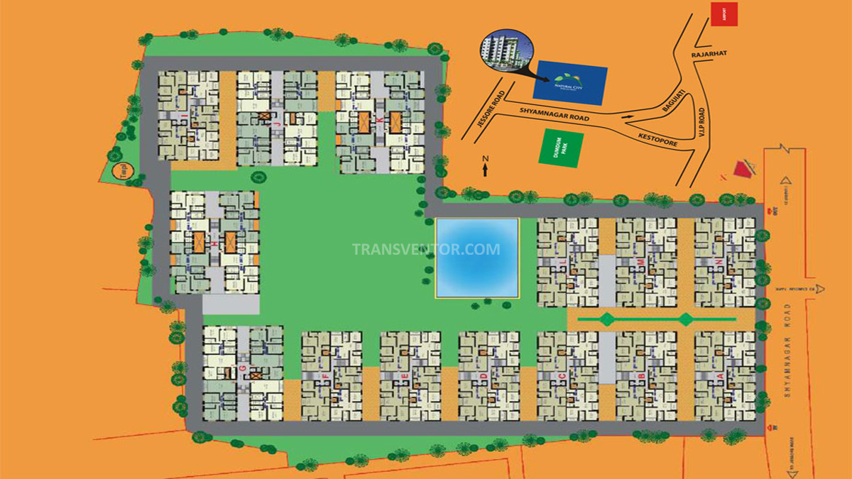 Natural City Floor Plan 1