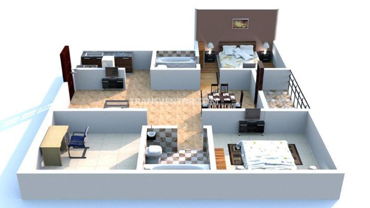 NBCC Vibgyor Towers Floor Plan 2