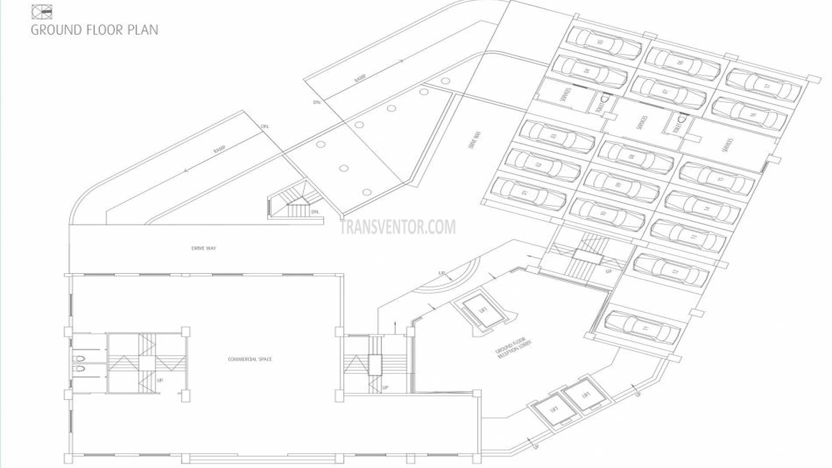 Fort Oasis Tower III Floor Plan 1